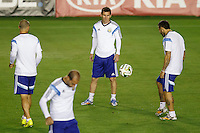 Argentina Training and Press Conference, July 12, 2014