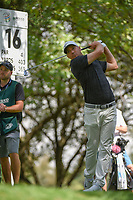 Alex Noren (SWE) watches his tee shot on 16 during round 3 of the World Golf Championships, Mexico, Club De Golf Chapultepec, Mexico City, Mexico. 2/23/2019.<br /> Picture: Golffile | Ken Murray<br /> <br /> <br /> All photo usage must carry mandatory copyright credit (© Golffile | Ken Murray)