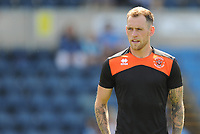 Blackpool's Harry Pritchard during the pre-match warm-up <br /> <br /> Photographer Kevin Barnes/CameraSport<br /> <br /> The EFL Sky Bet League One - Wycombe Wanderers v Blackpool - Saturday 4th August 2018 - Adams Park - Wycombe<br /> <br /> World Copyright &copy; 2018 CameraSport. All rights reserved. 43 Linden Ave. Countesthorpe. Leicester. England. LE8 5PG - Tel: +44 (0) 116 277 4147 - admin@camerasport.com - www.camerasport.com