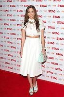 Jacqueline Jossa arriving for The Stag Premiere at Vue Leicester Square, London. 13/003/2014 Picture by: Dave Norton / Featureflash