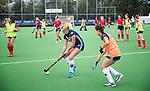 AMSTELVEEN  - warming up ,  hoofdklasse hockeywedstrijd dames Pinole-Laren (1-3). COPYRIGHT  KOEN SUYK