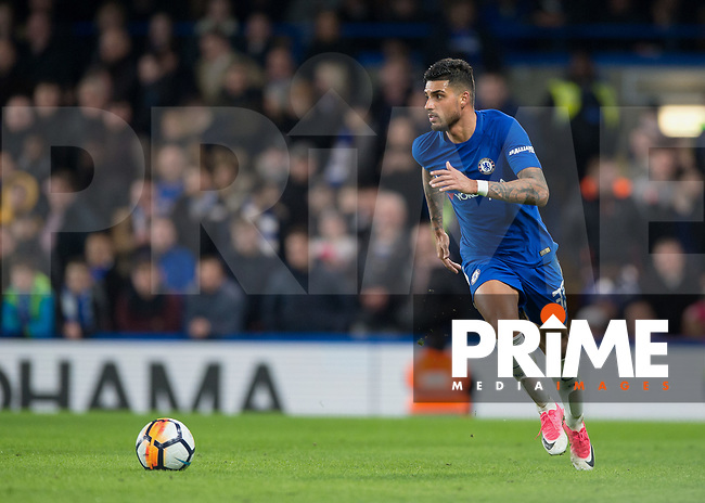Emerson of Chelsea in action during the FA Cup 5th round match between Chelsea and Hull City at Stamford Bridge, London, England on 16 February 2018. Photo by Vince  Mignott / PRiME Media Images.