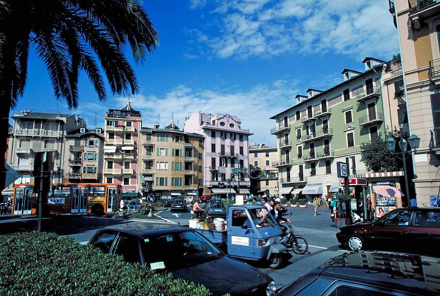Resort town. St Margarita Riviera Italy Europe.