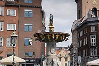 Caritas Fountain, Copenhagen, Denmark