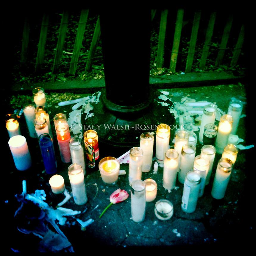 Memorial for Travis Vead, Washington Square Park