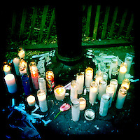 Memorial for Travis Vead, Washington Square Park