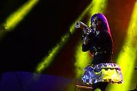 SÃO PAULO. SP 17.05.2014. VIRADA CULTURAL 2014 - A cantora Baby do Brasil durante a virada cultural no Palco pricipal da Julio Prestes neste sabado 17 ( Foto : Bruno Ulivieri / Brazil Photo Press )