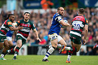 Tom Dunn of Bath Rugby goes on the attack. Gallagher Premiership match, between Leicester Tigers and Bath Rugby on May 18, 2019 at Welford Road in Leicester, England. Photo by: Patrick Khachfe / Onside Images