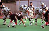 Mike Kiselak Sacramento Gold Miners 1993. Photo John Bradley