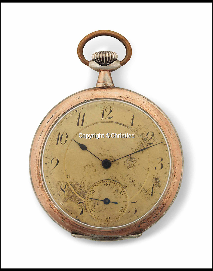 BNPS.co.uk (01202 558833)<br /> Pic: Christies/BNPS<br /> <br /> A 116-year-old pocket watch owned by Albert Einstein before he became a renowned genius has sold for more than 13 times its estimate.<br /> <br /> The Swiss timepiece had an estimate of £20,000 but has sold at Christie's in London for a whopping £266,500.<br /> <br /> It is one of three watches known to have been owned by Einstein and passed by direct descent from the theoretical physicist to the seller.