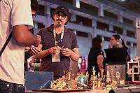 SAO PAULO, SP - 15.02.2019 - CAMPUS PARTY - Movimentação na Campus Party Brasil 2019 nesta sexta-feira (15) no Expo Center Norte na zona norte de Sao Paulo.<br /> <br /> <br /> (Foto: Fabricio Bomjardim / Brazil Photo Press / Folhapress)