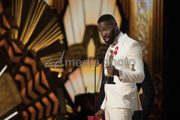 26 February 2017 - Hollywood, California - Tarell Alvin McCraney. 89th Annual Academy Awards presented by the Academy of Motion Picture Arts and Sciences held at Hollywood & Highland Center. Photo Credit: AMPAS/AdMedia