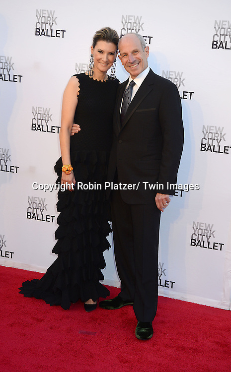Lizzie and Jonathan Tisch attends the New York City Ballet 2013 Fall Gala on September 19, 2013 at David H Koch Theater in Lincoln Center in New York City.