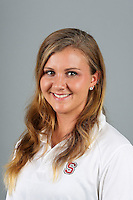 STANFORD, CA-OCTOBER 30, 2014- Emily Post of the Stanford Women's Water Polo Team 2014-2015.