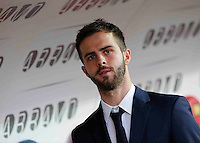 Miralem Pjanic  during the  italian serie a soccer match,between Crotone and Juventus      at  the Scida   stadium in Crotone  Italy , February 08, 2017