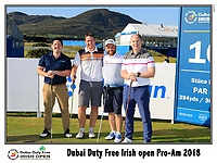 Andy Sullivan (ENG) team on the 10th tee during Wednesday's Pro-Am of the 2018 Dubai Duty Free Irish Open, held at Ballyliffin Golf Club, Ireland. 4th July 2018.<br /> Picture: Eoin Clarke | Golffile<br /> <br /> <br /> All photos usage must carry mandatory copyright credit (&copy; Golffile | Eoin Clarke)