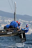 NAPOLI WORLD SERIES DELL AMERICAN'S CUP 2012.NELLA FOTO .FOTO CIRO DE LUCA