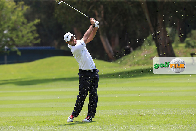 Edoardo Molinari (ITA) plays second shot on the 17th on the West Course during Round 2 of the 2016 Joburg Open Celebrating 10 years, played at the Royal Johannesburg and Kensington Golf Club, Gauteng, Johannesburg, South Africa.  15/01/2016. Picture: Golffile | David Lloyd<br /> <br /> All photos usage must carry mandatory copyright credit (&copy; Golffile | David Lloyd)