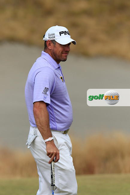 LEE WESTWOOD (ENG) on the 15th green during Thursday's Round 1 of the 2015 U.S. Open 115th National Championship held at Chambers Bay, Seattle, Washington, USA. 6/18/2015.<br /> Picture: Golffile | Eoin Clarke<br /> <br /> <br /> <br /> <br /> All photo usage must carry mandatory copyright credit (&copy; Golffile | Eoin Clarke)