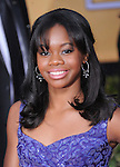 Gabrielle Douglas at 19th Annual Screen Actors Guild Awards® at the Shrine Auditorium in Los Angeles, California on January 27,2013                                                                   Copyright 2013 Hollywood Press Agency