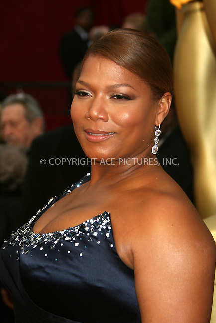 WWW.ACEPIXS.COM . . . . .  ....February 22, 2009. Hollywood, CA....Actress Queen Latifah arrives at the 81st Annual Academy Awards held at the Kodak Theater on February 22, 2009 in Hollywood, CA.......Please byline: Z09- ACEPIXS.COM.... *** ***..Ace Pictures, Inc:  ..Philip Vaughan (646) 769 0430..e-mail: info@acepixs.com..web: http://www.acepixs.com