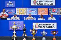 SAO PAULO, SP, 12 FEVEREIRO 2013 - CARNAVAL SP - APURAÇÃO -  Movimentação durante apuração dos votos das escolas de Samba do Grupo Especial no Sambódromo do Anhembi na região norte da capital paulista, nesta terça, 12. FOTO: LEVI BIANCO - BRAZIL PHOTO PRESS