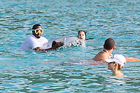 PAP1212365.SEAN COMBS, P.DIDDY, IN ST BARTS HAVING FUN WITH HIS NEW TOY FOR EFFORTLESS SWIM.PAP1212365.SEAN COMBS, P.DIDDY, IN ST BARTS HAVING FUN WITH HIS NEW TOY FOR EFFORTLESS SWIM.