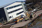 Pix: Shaun Flannery/shaunflanneryphotography.com...COPYRIGHT PICTURE>>SHAUN FLANNERY>01302-570814>>07778315553>>..27th January 2012………………Henry Boot Developments..Markham Vale, Junction 29A, Chesterfield..Squadron Medical new premises under construction.