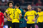 09.11.2019, Allianz Arena, Muenchen, GER, 1.FBL,  FC Bayern Muenchen vs. Borussia Dortmund, DFL regulations prohibit any use of photographs as image sequences and/or quasi-video, im Bild der BVB enttaeuscht mit Paco Alcacer (BVB #9) <br /> <br />  Foto © nordphoto / Straubmeier