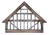 Modern Timber Frame Building