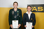 Girls Tennis finalists Abigail Guthrie & Nicola Blake. ASB College Sport Young Sportperson of the Year Awards 2007 held at Eden Park on November 15th, 2007.
