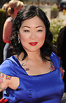 LOS ANGELES, CA - SEPTEMBER 15: Margaret Cho arrives at the 2012 Primetime Creative Arts Emmy Awards at Nokia Theatre L.A. Live on September 15, 2012 in Los Angeles, California.