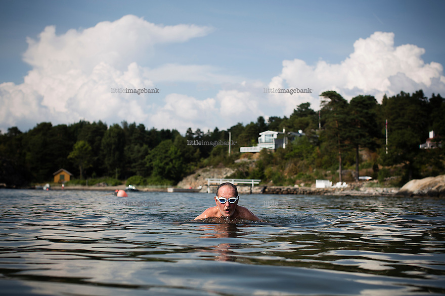 Larkollen, Østfold, 08.07.2014. Jon Michelet. Foto: Christopher Olssøn.