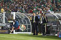 Action photo during the match Mexico vs Jamaica at Rose Bowl Stadium Copa America Centenario 2016. ---Foto  de accion durante el partido Mexico vs Jamaica, En el Estadio Rose Bowl Partido Correspondiante al Grupo - C -  de la Copa America Centenario USA 2016, en la foto: Juan Carlos Osorio<br /> <br /> --- 09/06/2016/MEXSPORT/German Alegria.