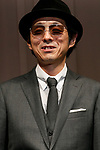 Japanese director, actor and screenwriter Kankuro Kudo poses for the cameras during the 30th Japan Best Dressed Eyes Awards at Tokyo Big Sight on October 11, 2017, Tokyo, Japan. The event featured Japanese celebrities who were recognized for their fashionable eyewear. (Photo by Rodrigo Reyes Marin/AFLO)