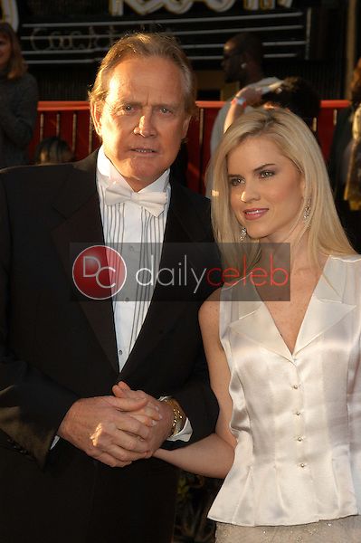 Lee Majors and wife Faith