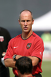 3 July 2004: MetroStars head coach Bob Bradley. DC United defeated the MetroStars 6-2 at RFK Stadium in Washington, DC during a regular season Major League Soccer game..