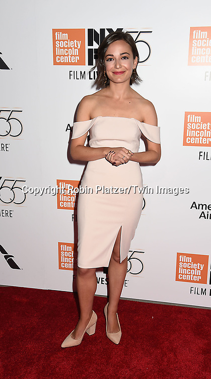 actress Kate Easton attends the  Opening Night Gala Presentation and World Premiere of &quot; Last Flag Flying&quot; at the 55th New York Film Festival on September 28, 2017 at Alice Tully Hall in Lincoln Center in New York City. <br /> <br /> photo by Robin Platzer/Twin Images<br />  <br /> phone number 212-935-0770