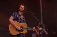 Alexandre Poulin performs at the Festival d'ete de Quebec (Quebec Summer Festival) on July 14, 2018. THE CANADIAN PRESS IMAGES/Francis Vachon