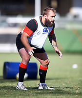 Joe Marler (Harlequins) during the England Rugby training session at  Jonsson Kings Park Stadium,Durban.South Africa. 05,06,2018 Photo by Steve Haag)