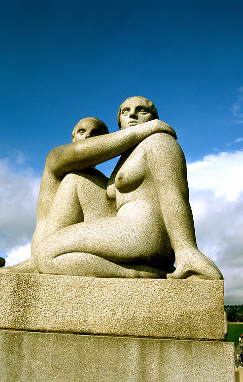 Norway: Vigeland Sculpture Garden, Oslo, sculptures of Gustav Vigeland.  Photo: eurail103.Photo copyright Lee Foster, 510/549-2202, lee@fostertravel.com, www.fostertravel.com