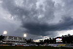 18 April 2015: Dark clouds roll over the stadium before the game. The Carolina RailHawks hosted the Atlanta Silverbacks at WakeMed Stadium in Cary, North Carolina in a North American Soccer League 2015 Spring Season match. Atlanta won the game 2-1.