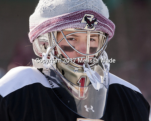 Molly Barrow (BC - 1) - The Boston College Eagles practiced at Fenway on Monday, January 9, 2017, in Boston, Massachusetts.Molly Barrow (BC - 1) - The Boston College Eagles practiced at Fenway on Monday, January 9, 2017, in Boston, Massachusetts.