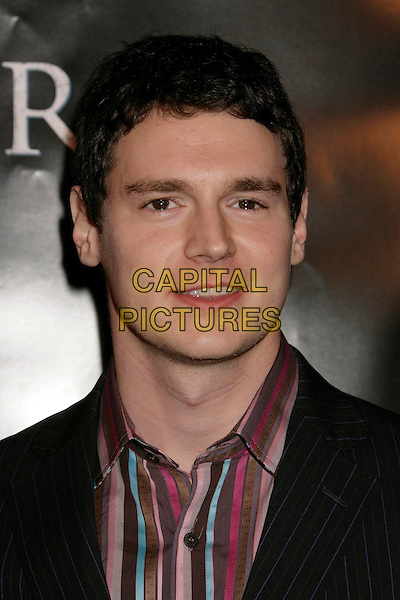 "BENJAMIN WALKER.""Flags of Our Fathers"" Los Angeles Premiere held at the Academy of Motion Picture Arts and Sciences, Beverly Hills, California, USA, 09 October 2006..portrait headshot .Ref: ADM/RE.www.capitalpictures.com.sales@capitalpictures.com.©Russ Elliot/AdMedia/Capital Pictures."