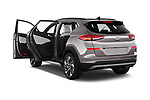 Car images close up view of a 2019 Hyundai Tucson Shine 5 Door SUV doors
