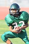 Torrance, CA 10/06/11 - unidentified South Torrance player(s) in action during the Peninsula vs South Torrance Frosh football game.