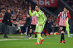 Football match during La Liga with the teams ath. club and fc barcelona in san mames stadium, bilbao<br /> jordi alba<br /> PHOTOCALL3000