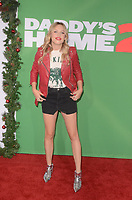 WESTWOOD, CA - NOVEMBER 5: Gracie Dzienny at the premiere of Daddy's Home 2 at the Regency Village Theater in Westwood, California on November 5, 2017. Credit: David Edwards/MediaPunch