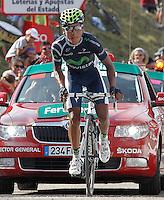 Nairo Alexander Quintana during the stage of La Vuelta 2012 between La Robla and Lagos de Covadonga.September 2,2012. (ALTERPHOTOS/Acero) /NortePhoto.com<br /> <br /> **CREDITO*OBLIGATORIO** <br /> *No*Venta*A*Terceros*<br /> *No*Sale*So*third*<br /> *** No*Se*Permite*Hacer*Archivo**<br /> *No*Sale*So*third*