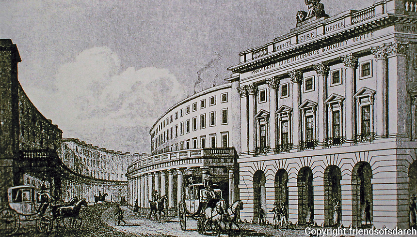 Regent Street: Quadrant, looking west.<br />
